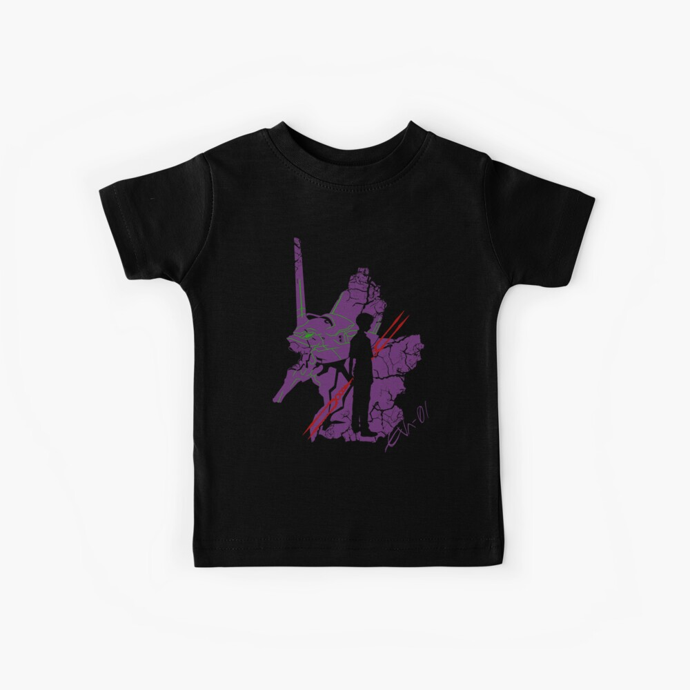 Evangelion Unit-01 Kids T-Shirt