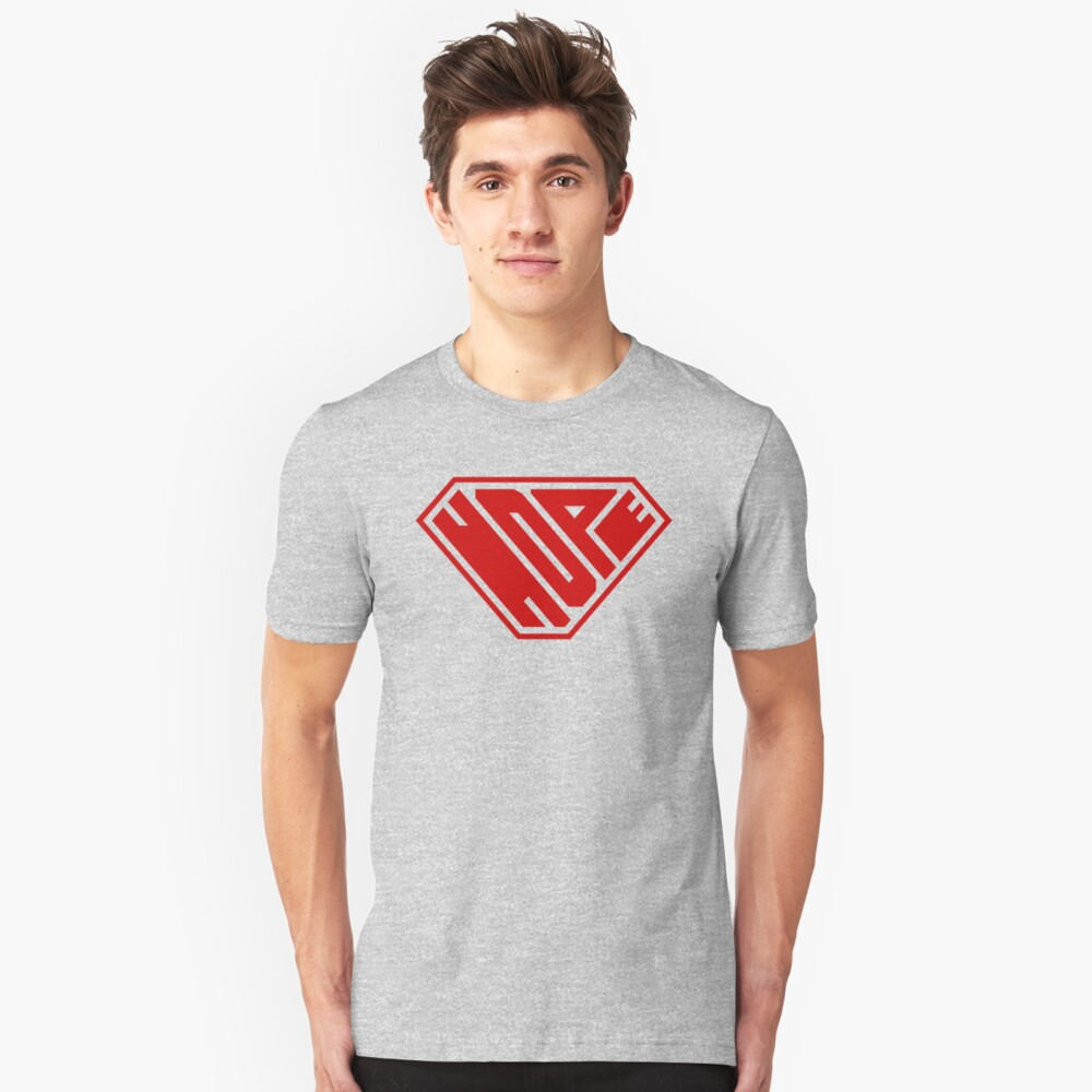 Hope SuperEmpowered (Red) Unisex T-Shirt Front