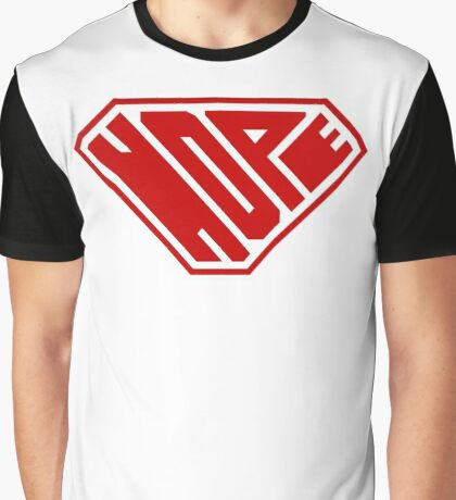Hope SuperEmpowered (Red) Graphic T-Shirt