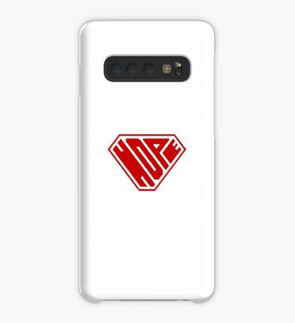 Hope SuperEmpowered (Red) Case/Skin for Samsung Galaxy