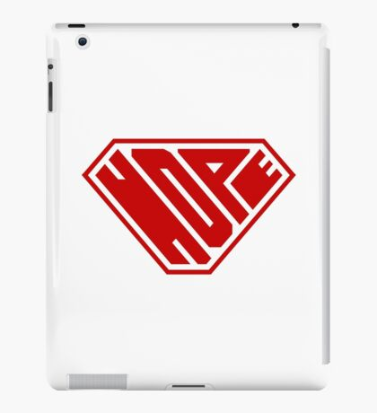 Hope SuperEmpowered (Red) iPad Case/Skin