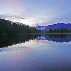 Lake Matheson Sunrise by Harry Oldmeadow