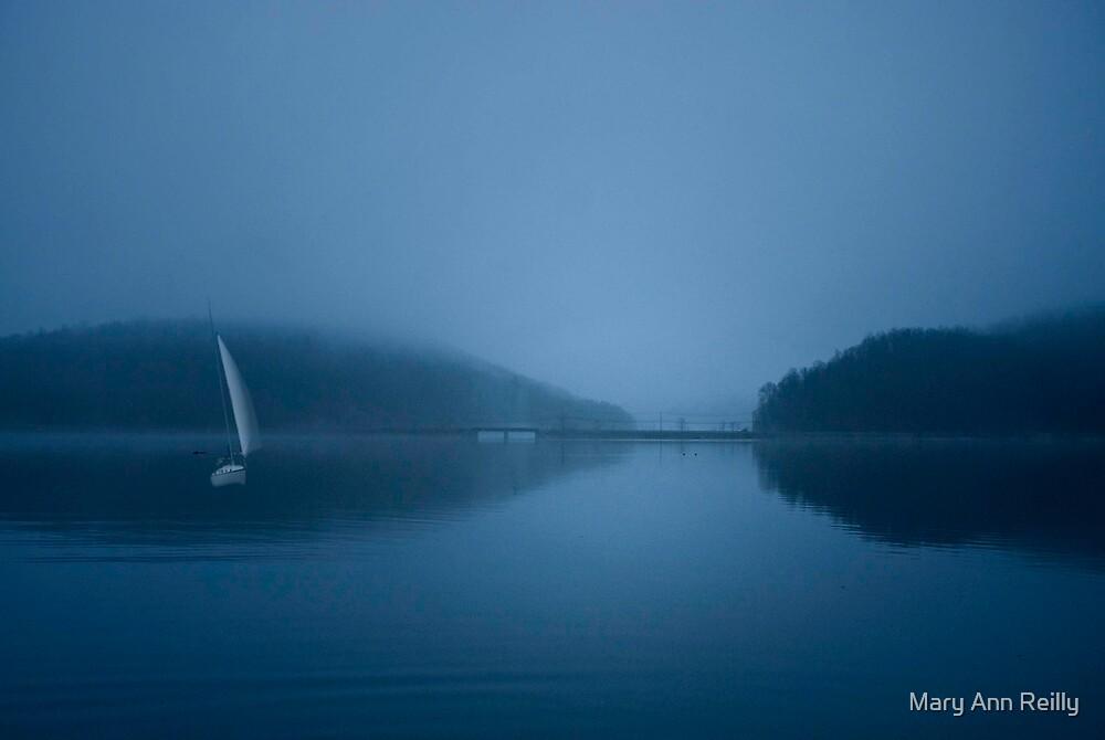 Sailing in Fog by Mary Ann Reilly