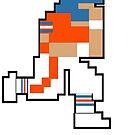 Tecmo Bowl Denver 8-bit DEN by jackandcharlie