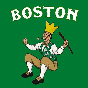 classic Boston leprechaun by Deezer509