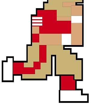Tecmo Bowl S.F. 8-bit San Francisco by jackandcharlie