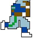 Tecmo Bowl Shirt - SEA 8-bit Seattle by jackandcharlie