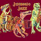 Jurassic Jazz - Dinosaur Trio by MissMusica