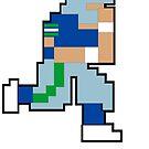 Tecmo Bowl - SEA 8-bit Seattle by jackandcharlie