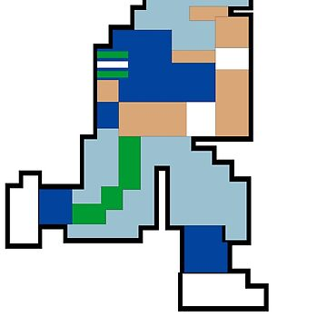 Tecmo Bowl - SEA 8-bit Seattle by jackandcharlie