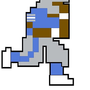 Tecmo Bowl DET - 8-bit Detroit by jackandcharlie