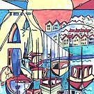 Bristol marina by Miles Design Art