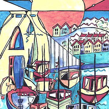 Bristol marina by milesdesignart