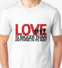 U2 Love Is Bigger Than Anything In Its Way Unisex T-Shirt
