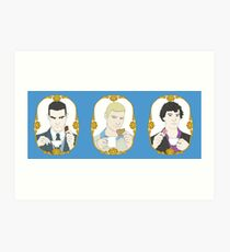 Tea Time - Trio Art Print