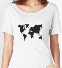 world Women's Relaxed Fit T-Shirt