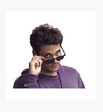 Lámina fotográfica Gafas John Mayer