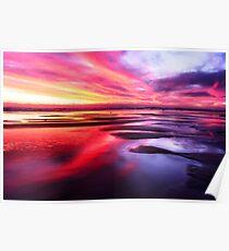 Mornington Peninsula - ocean sunset Poster