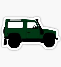 Land Rover Offender Sticker