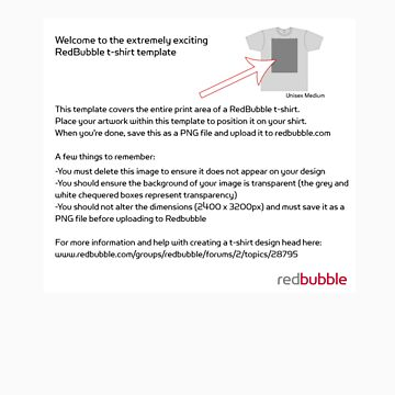 RB T-Shirt Template by dianeserven
