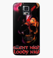 SILENT NIGHT BLOODY NIGHT Case/Skin for Samsung Galaxy