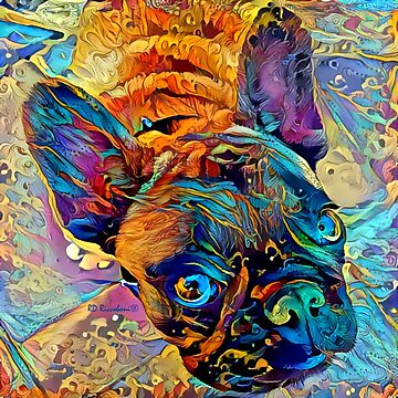 Frenchie by RD Riccoboni - French Bulldog by RDRiccoboni