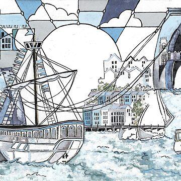 Bristol Matthew blue by milesdesignart