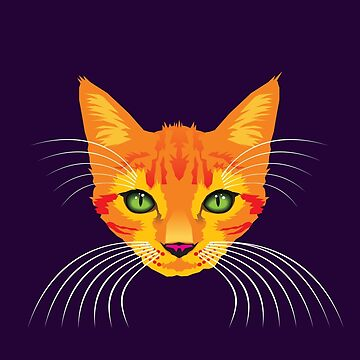 Orange Cat Check ME Out! by aartytees