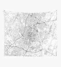 Austin White Karte Wandbehang