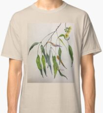 Gum leaves - Botanical illustration Classic T-Shirt