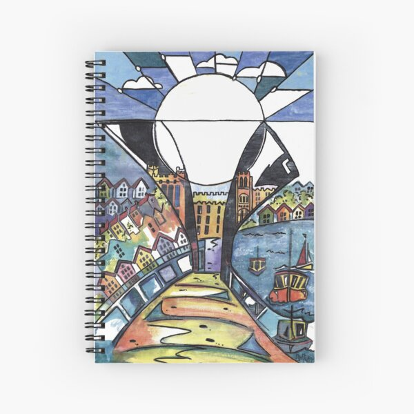 Bristol Pero bridge Spiral Notebook