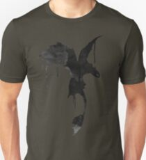 Toothless Silhouette - Ink Drips T-Shirt
