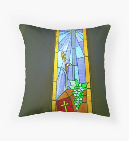 Buntglas-Fenster Kissen