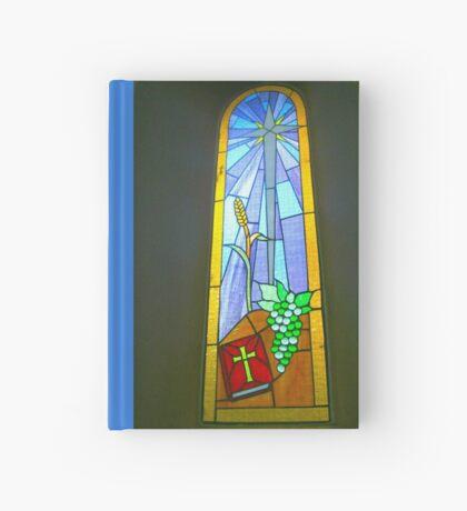 Buntglas-Fenster Notizbuch