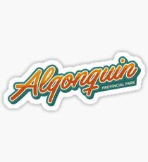 Algonquin Provincial Park Typo Sticker