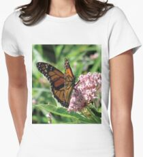 Flower Fly Women's Fitted T-Shirt