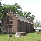 Jamestown Church, Jamestown, VA by Joseph Rieg