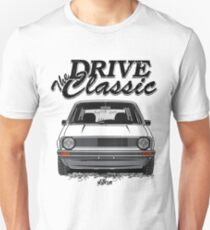 Golf 1 MK1 & quot; Drive the Classic & quot; Unisex T-Shirt