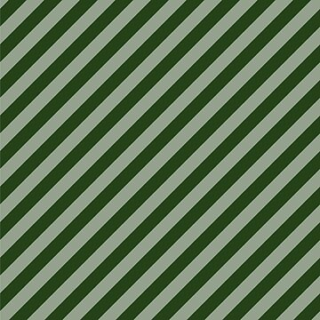 Large Dark Forest Green Candy Cane Stripes by podartist