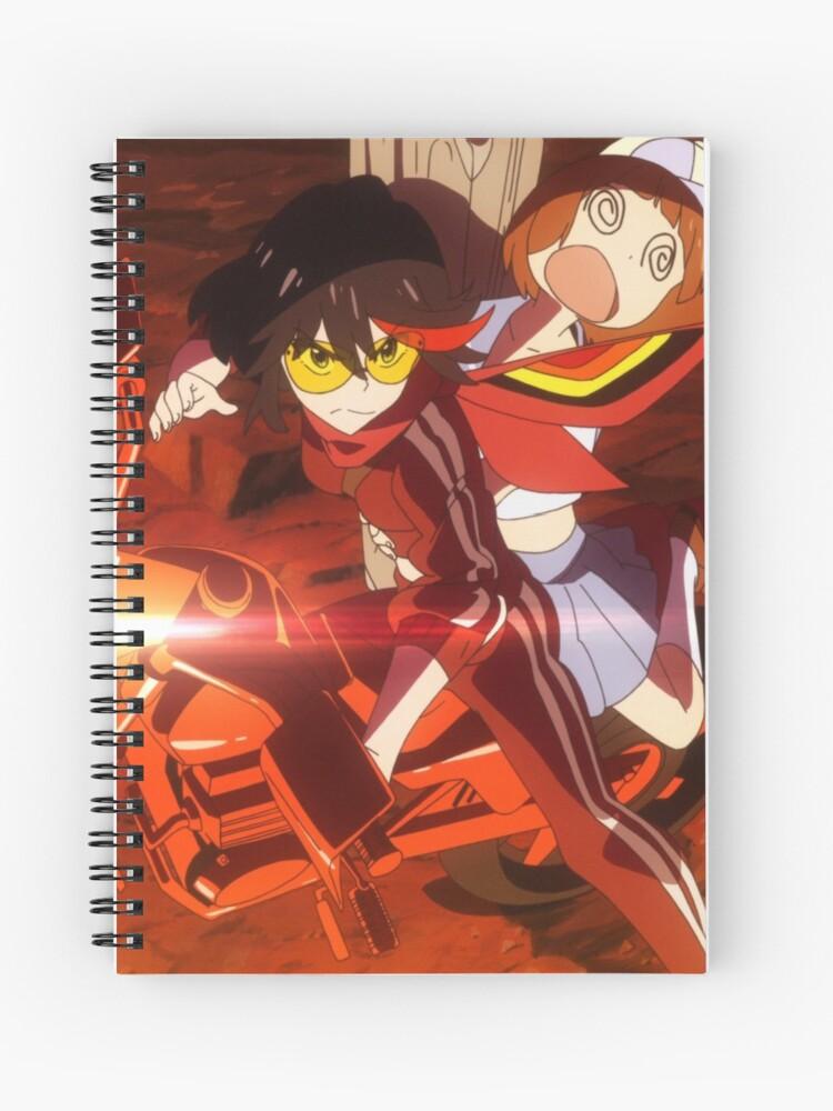 Ryuko Matoi And Mako Mankanshoku Spiral Notebook