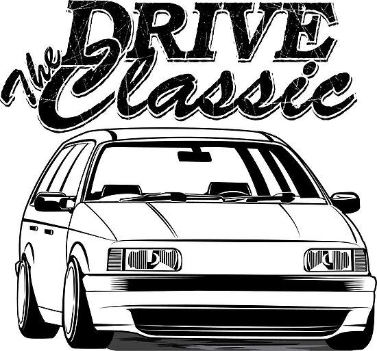 Passat B3 35i Drive The Classic Posters By Glstkrrn