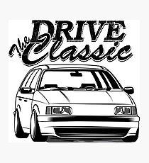 "Passat B3 35i ""Drive the Classic"" Photographic Print"