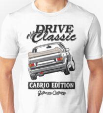 Golf 1 MK1 Convertible & quot; Drive the Classic & quot; Unisex T-Shirt