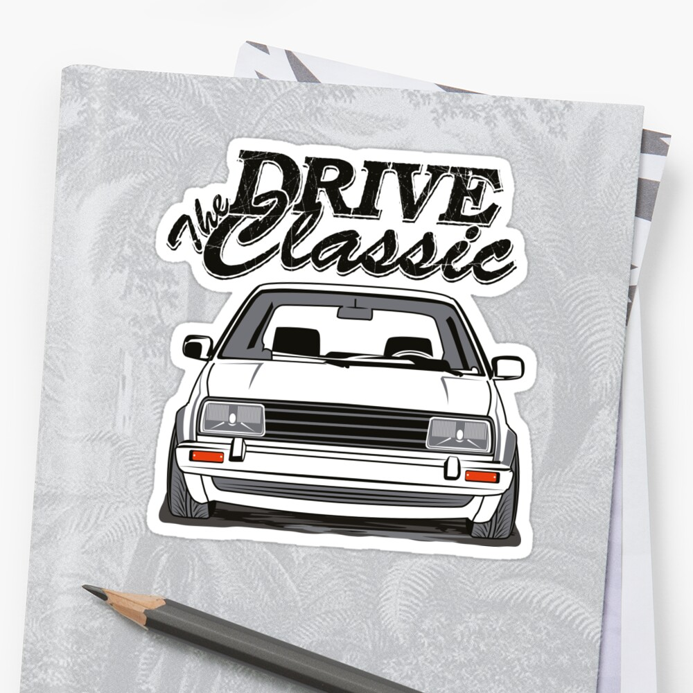 Jetta 2 drive the classic sticker