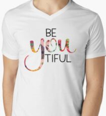 BeYouTiful Men's V-Neck T-Shirt