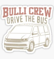 Vw T6 Bus Stickers Redbubble