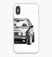 """Vinilo o funda para iPhone Golf 2 GTI MK2 """"Estilo de dibujo"""""""