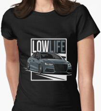 S3 8V & quot; LowLife & quot; Women's Fitted T-Shirt