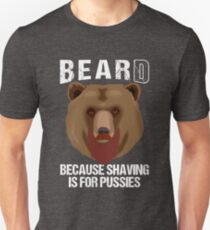 Bearded Bear Unisex T-Shirt