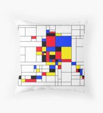 Alaska, Mondrian Style Floor Pillow